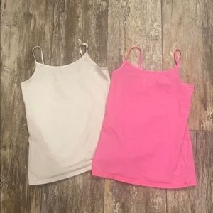 PAIR OF 2 SIZE 12 JUSTICE TANK TOPS PLAY CLOTHES